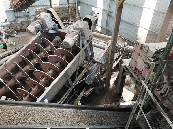 Crusher Plant Sand Washer Machine