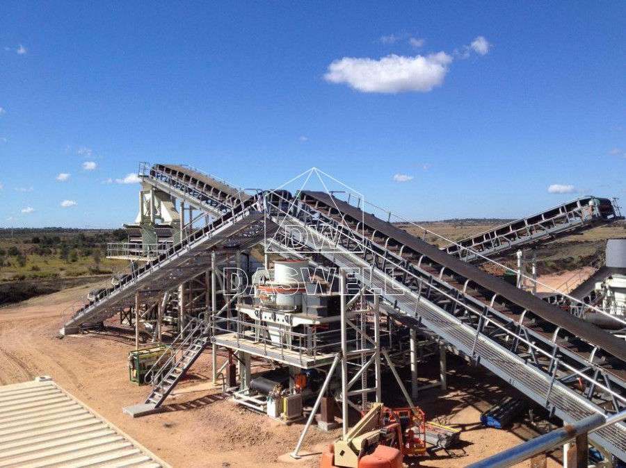 Daswell aggreagte crushing production line