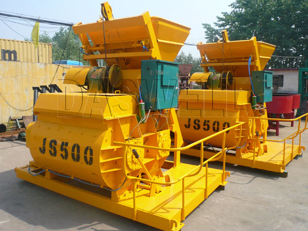 JS 500 Mixer Machine