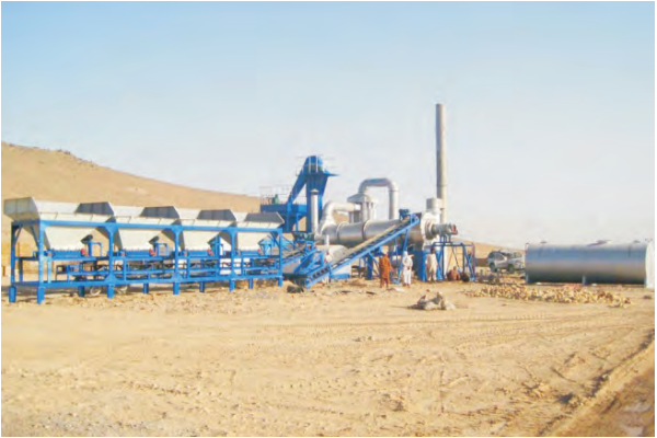 MADP 60 mobile asphalt drum mixing plant
