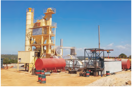 SAP 1000 Hot Mix Asphalt Plant