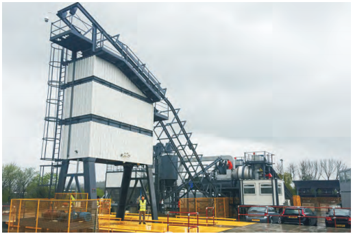 SAP 1500 Hot Mix Asphalt Plant
