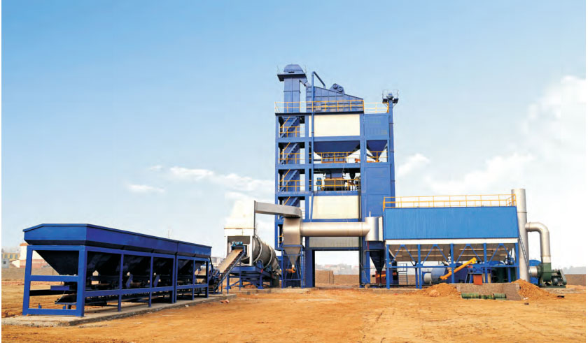 SAP 3000 Hot Mix Asphalt Plant