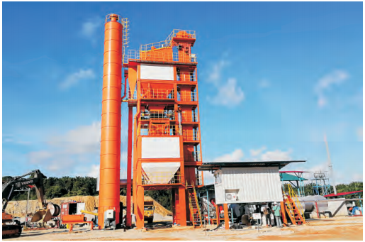 SAP Batch Mix Asphalt Plant