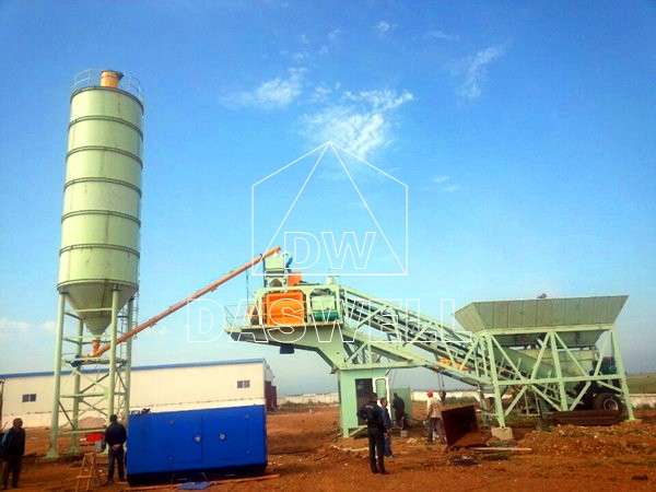 YHZS 25 Mobile Batching Plant
