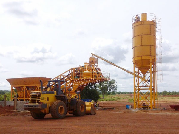 YHZS 25 Ready Mix Concrete Plant