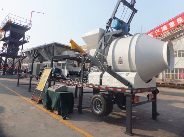 YHZS 25A Mobile Concrete Batching Plant