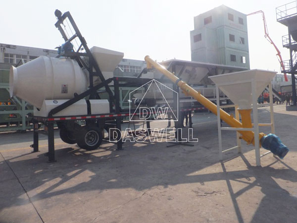 YHZS 25A Ready Mix Concrete Plant