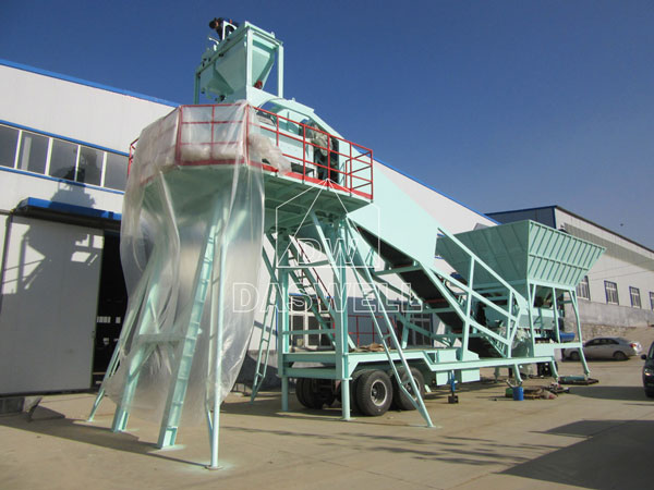 YHZS 35 Mobile Batching Plant