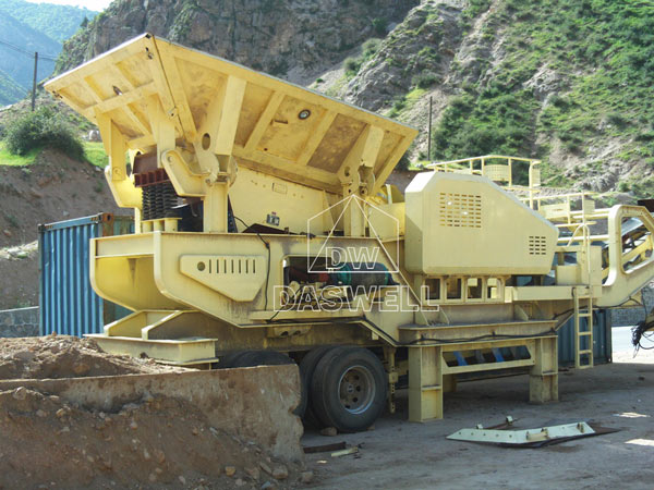 mobile crushing plant for sale cases