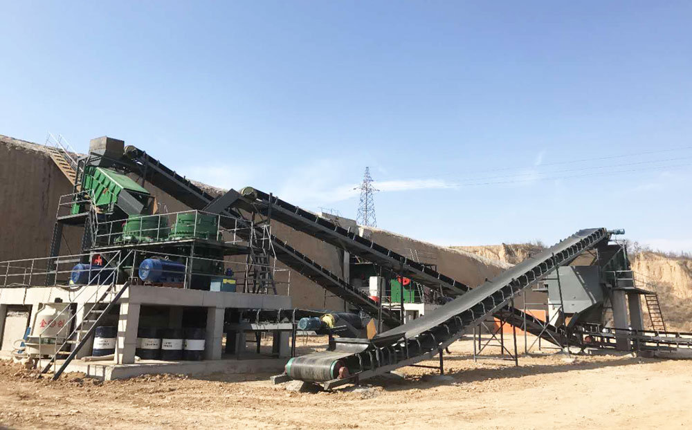 Complete Aggregate Crushing Plant Porduction Line
