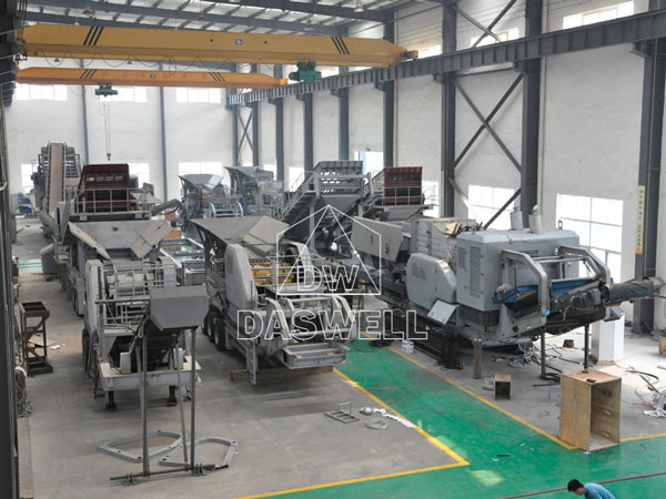 mobile crushing plant for sale