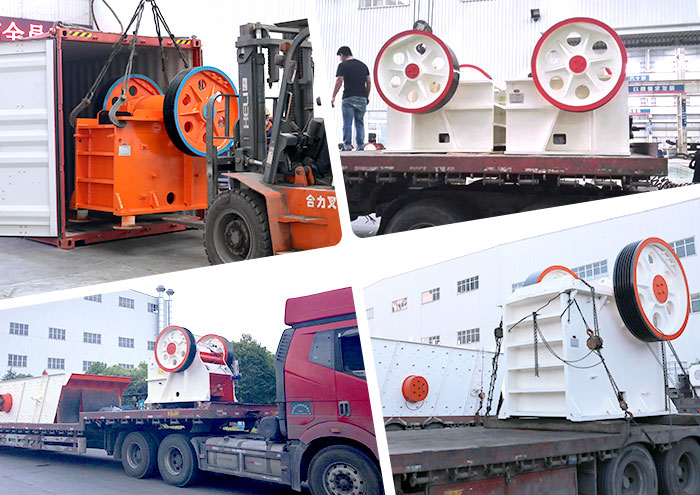 transport Daswell jaw crusher to Philippines