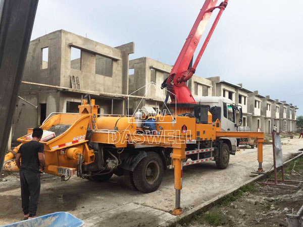 25m concrete boom pump for sale