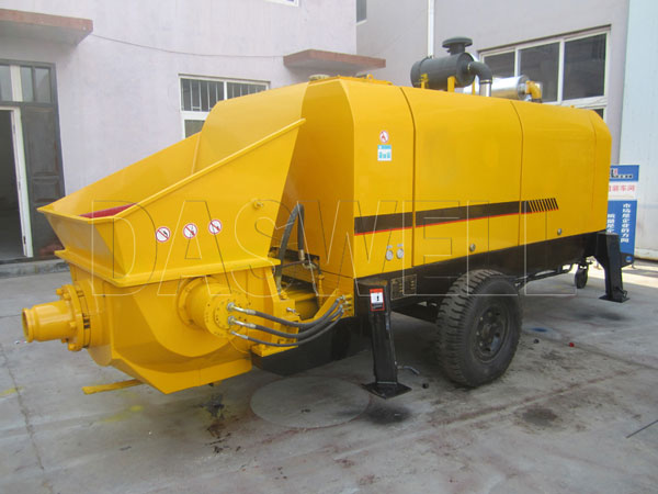 CPD 40 diesel statioanry concrete pump for sale