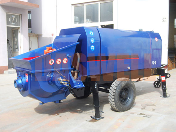 CPE 30 electromotor stationary concrete pump