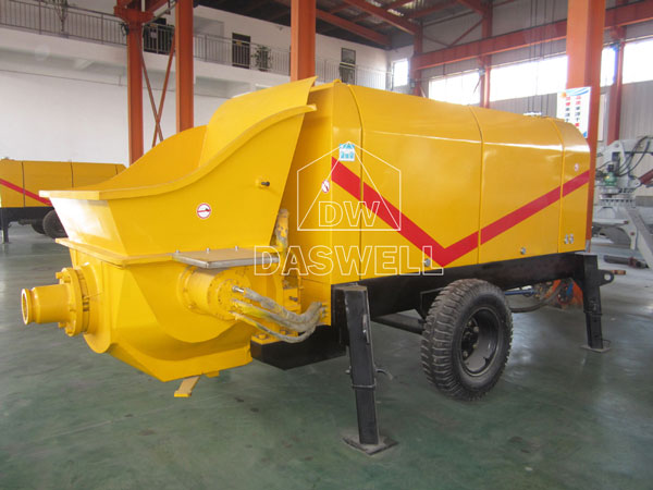 CPE 40 electric motor stationary concrete pump