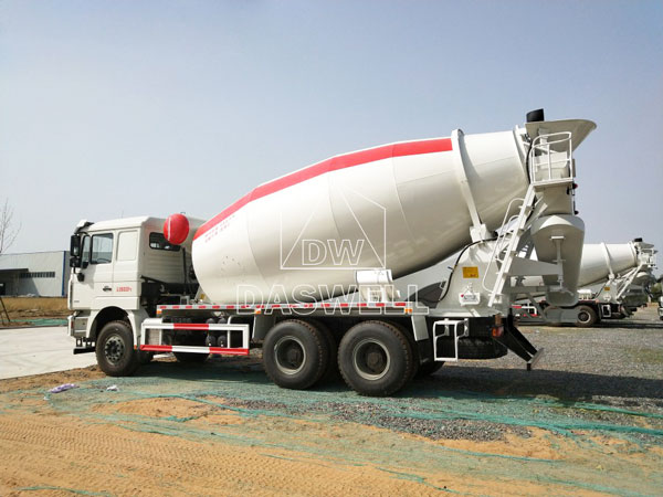 DW 12 concrete transit mixer for sale