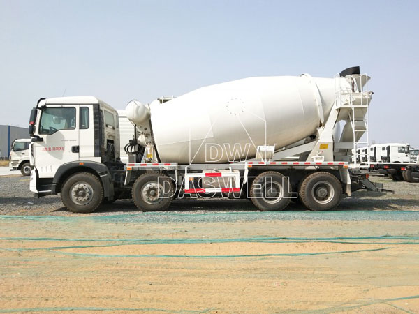 DW 14 transit mixer for concrete