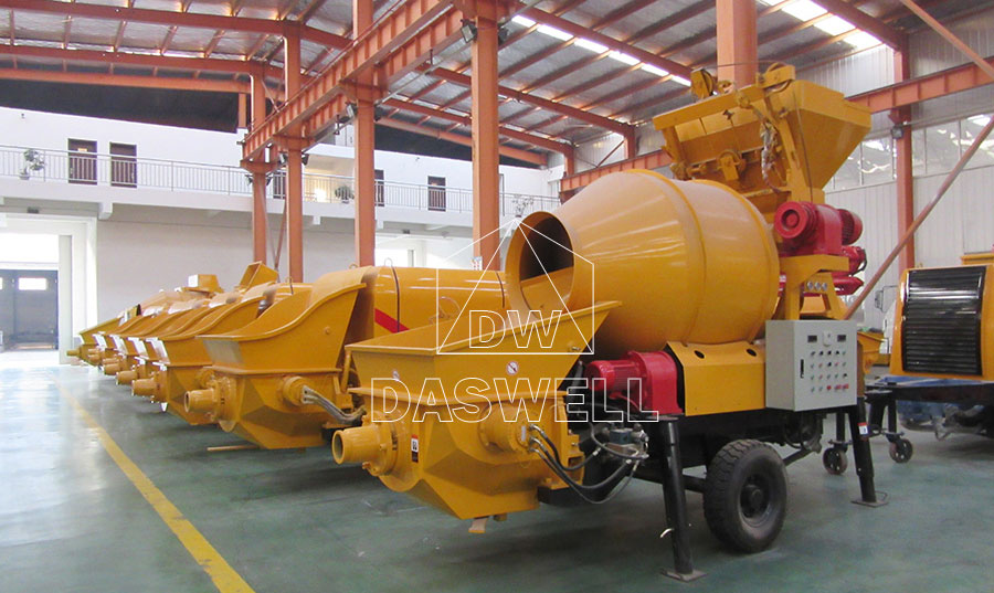 Daswell Concrete Mixer Pump Factory