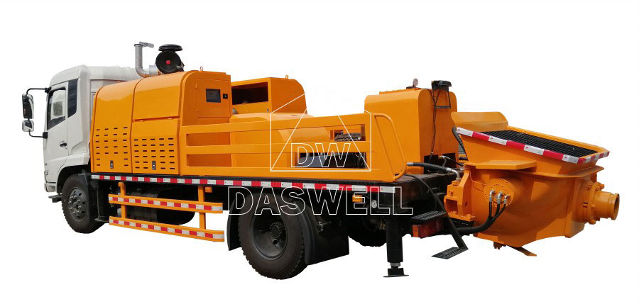 ell concrete line pump truck for sale with high quality
