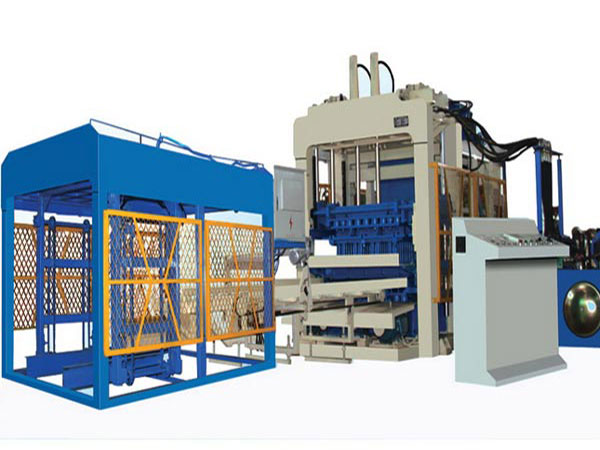 QT10-15 automatic fly ash brick making machine