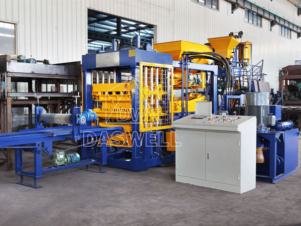 QT6-15 automatic fly ash brick making machine