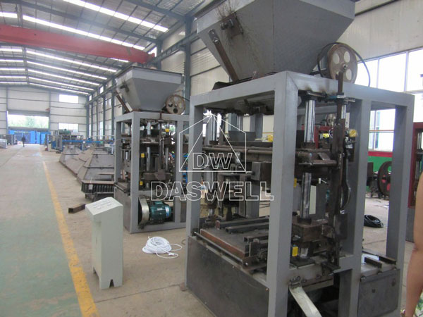 fly ash block machine factory