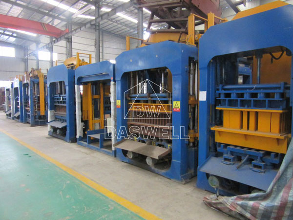 fly ash brick machine production factory