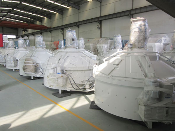 planetary type mixer in factory