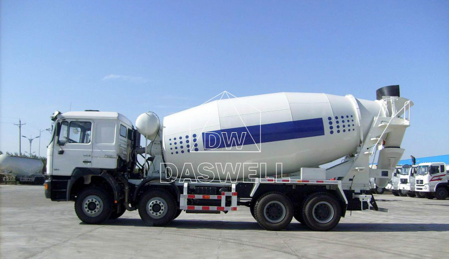 DW 10 small cement mixer truck for sale