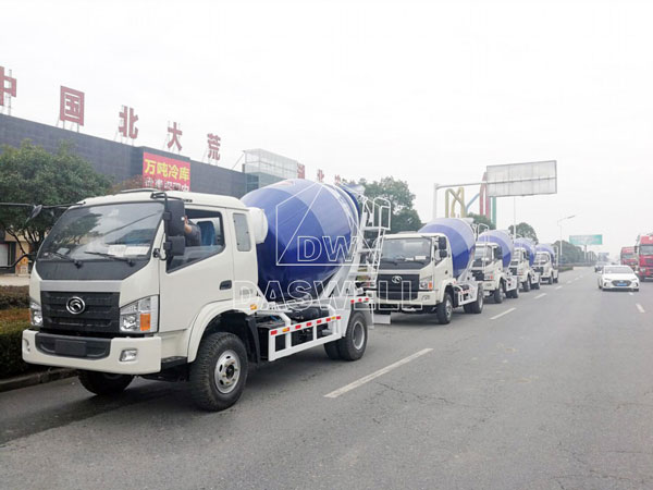 DW 4 small mixer transport to Philippines