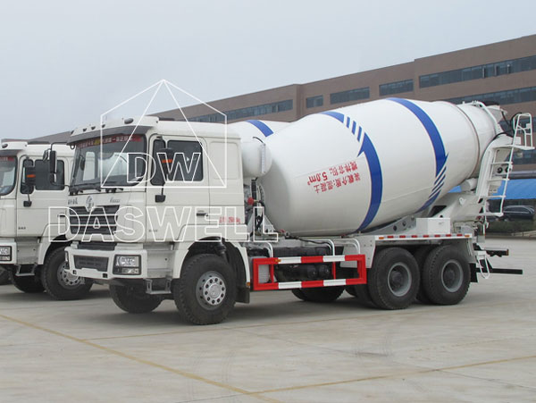 DW 5 small cement mixer truck