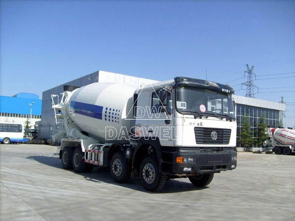 DW 8 small concrete mixer truck