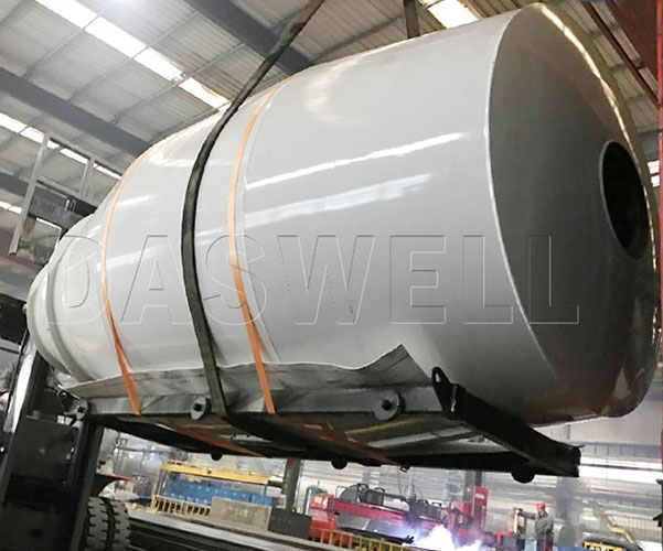 small concrete mixer truck drum