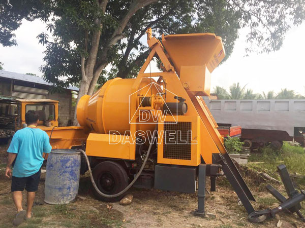HBT40 small cement mixer pumping machine for sale