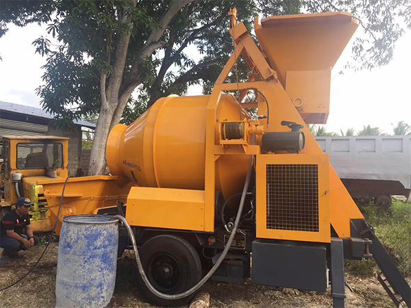 concrete mixer truck sold to Philippines