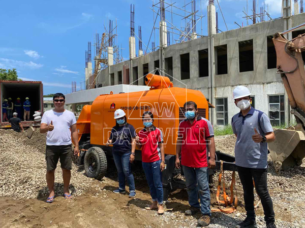 Daswell staionary pumpcrete