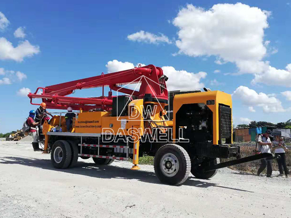 mobile boom pumps in Philippines