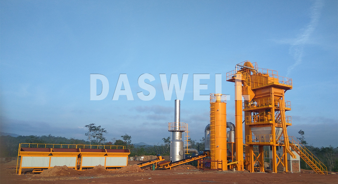 Daswell Asphalt Mixing Plant Work Site